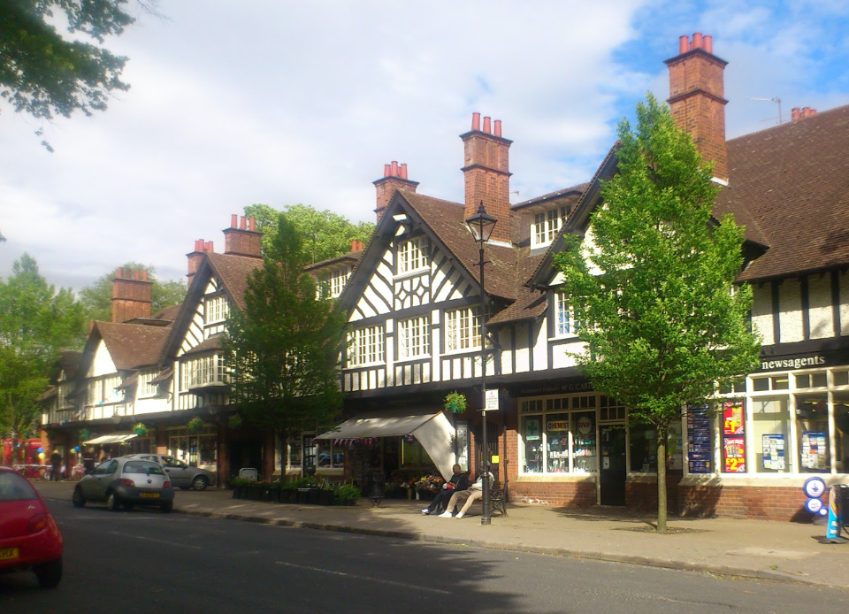 An image of Bourneville Green