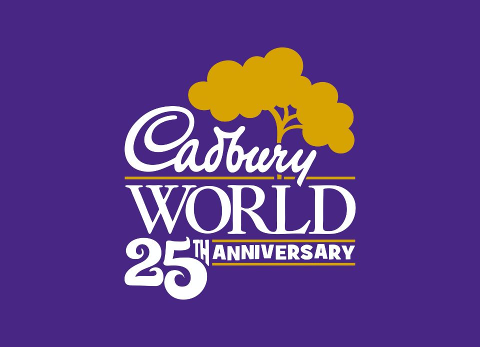 An image of Cadbury World 25th Anniversary
